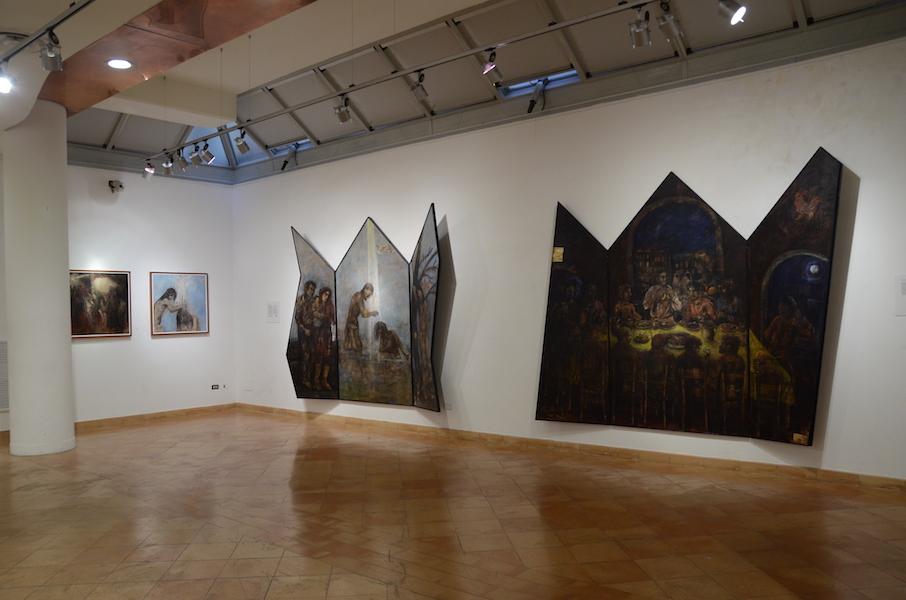 """La mostra di Felice Lovisco """"Non forzarti all'oscurità"""", 2013"""