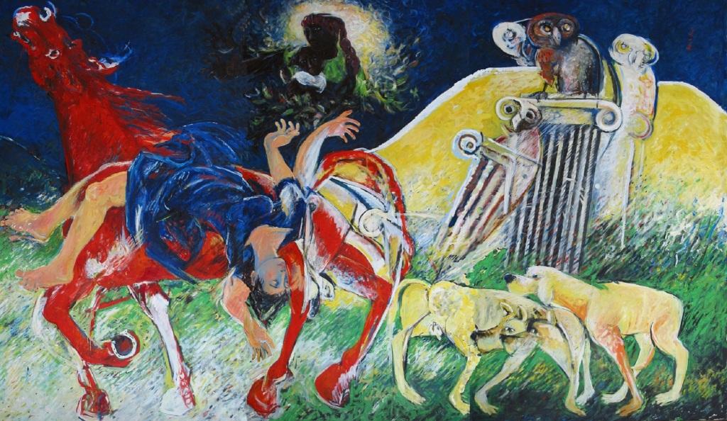 Felice Lovisco, Ex voto, dipinto