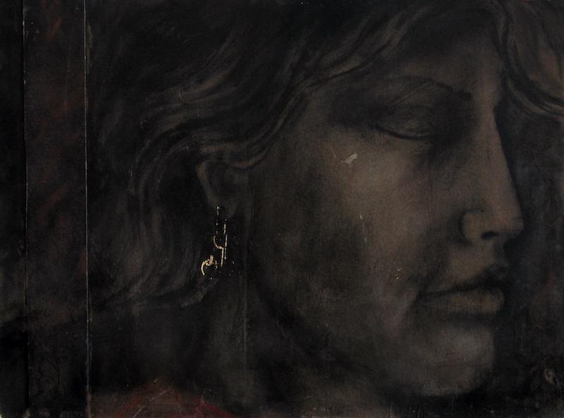 Felice Lovisco, Donna con orecchino