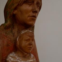 Felice  Lovisco, Maternità lignea