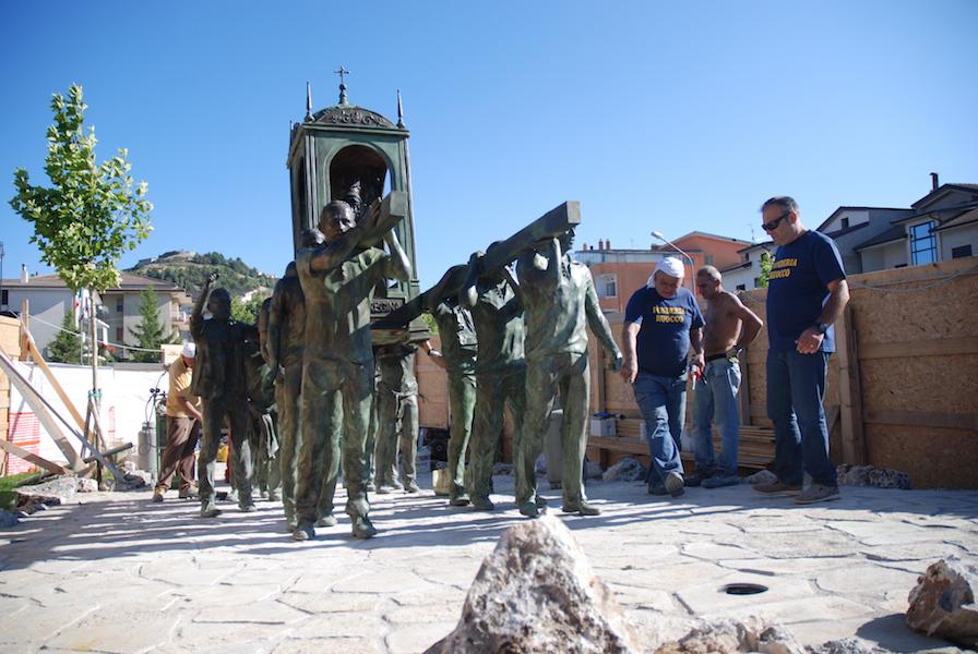 Felice Lovisco, Pellegrinaggio alla Madonna Nera di Viggiano, 2016